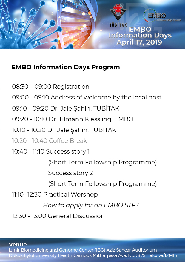 EMBO Information Days