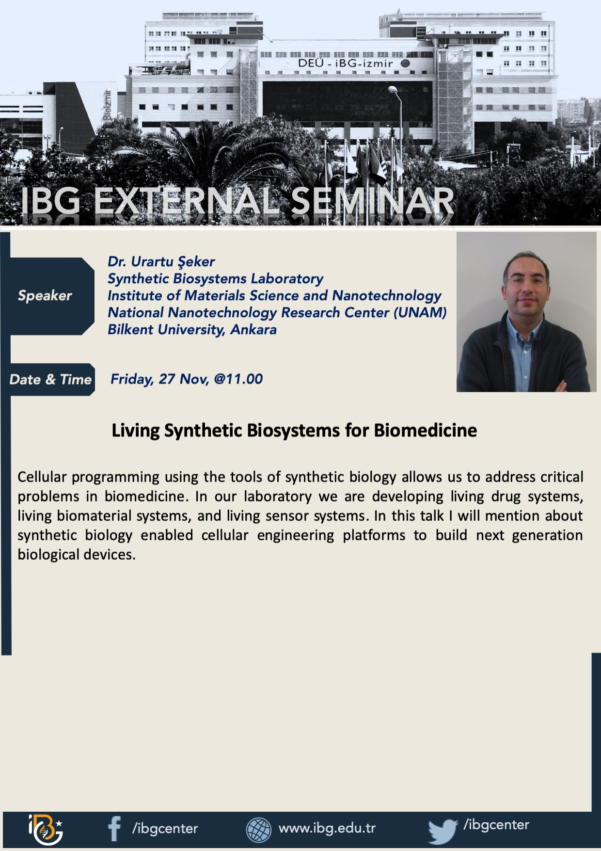 Living Synthetic Biosystems for Biomed