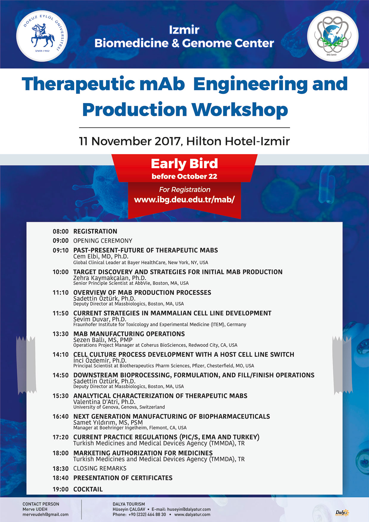 Therapeutic mAb Engineering and Production Workshop