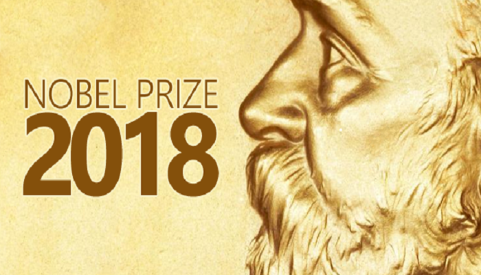 NOBEL PRIZES 2018 IN PHYSIOLOGY OR MEDICINE, CHEMISTRY, AND PHYSICS