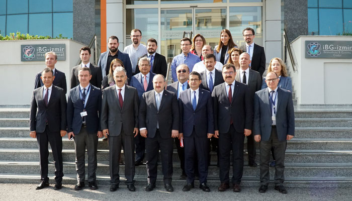 Minister of Industry and Technology Mustafa Varank visited IBG