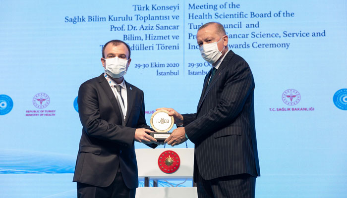 IBG RESEARCHER RECEIVES 2020 TUSEB AZIZ SANCAR AWARD