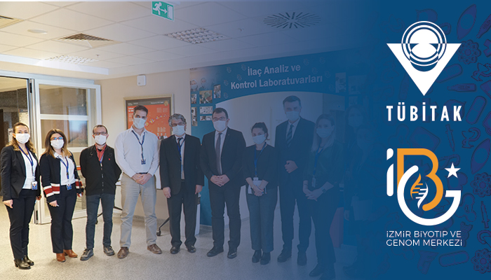 PROF. DR. HASAN MANDAL, THE PRESIDENT OF TUBITAK, VISITED IBG