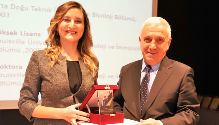 Assoc. Prof. Duygu Sağ receives METU Parlar Foundation Research Incentive Award