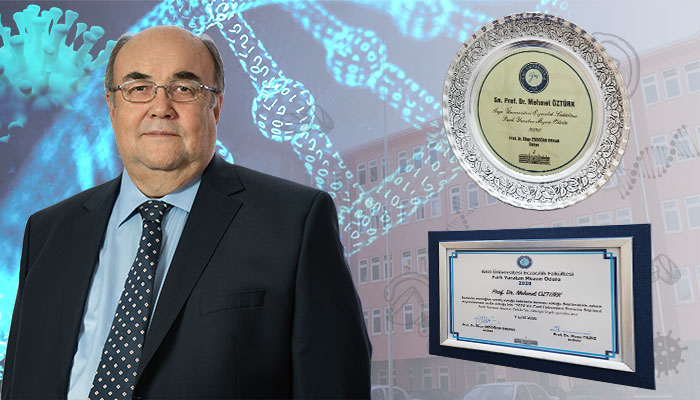 "IBG DIRECTOR PROF. MEHMET ÖZTÜRK RECEIVES THE ""DISTINGUISHED GRADUATE"" AWARD"