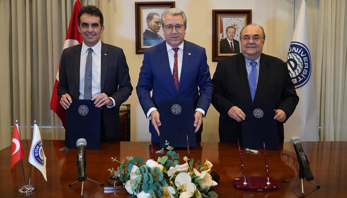 A Collaboration Protocol was Signed Between Izmir Biomedicine and Genome Center and Ege University