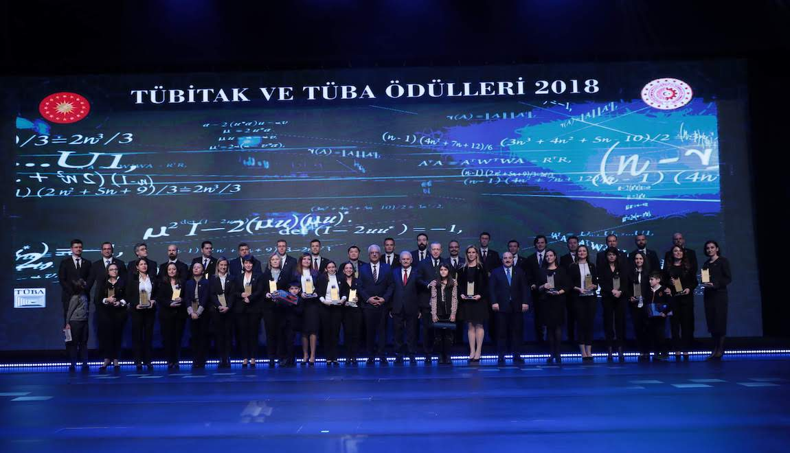Three members of IBG received 2018 TÜBA-GEBİP Awards