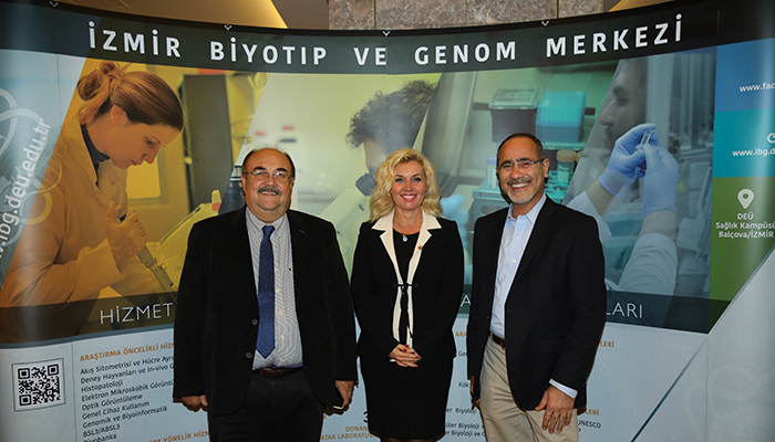 "Hürriyet Ege: ""Izmir Biomedicine and Genome Center is Equivalent to Harvard"""
