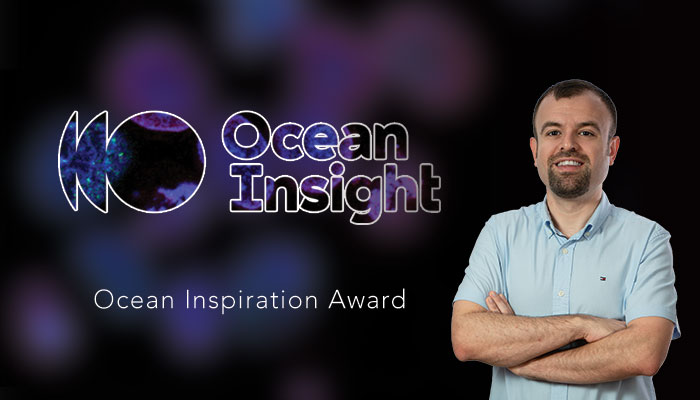 IBG RESEARCHER RECEIVES OCEAN INSIGHT INSPIRATION AWARD
